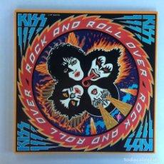 Discos de vinilo: KISS – ROCK AND ROLL OVER JAPAN,1976 CASABLANCA. Lote 216369980