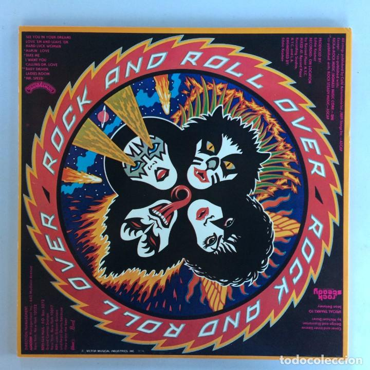 Discos de vinilo: Kiss – Rock And Roll Over Japan,1976 Casablanca - Foto 2 - 216369980