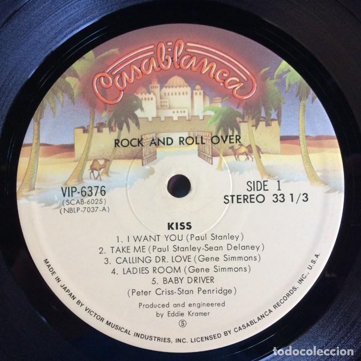 Discos de vinilo: Kiss – Rock And Roll Over Japan,1976 Casablanca - Foto 6 - 216369980