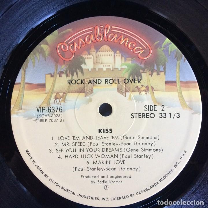 Discos de vinilo: Kiss – Rock And Roll Over Japan,1976 Casablanca - Foto 7 - 216369980