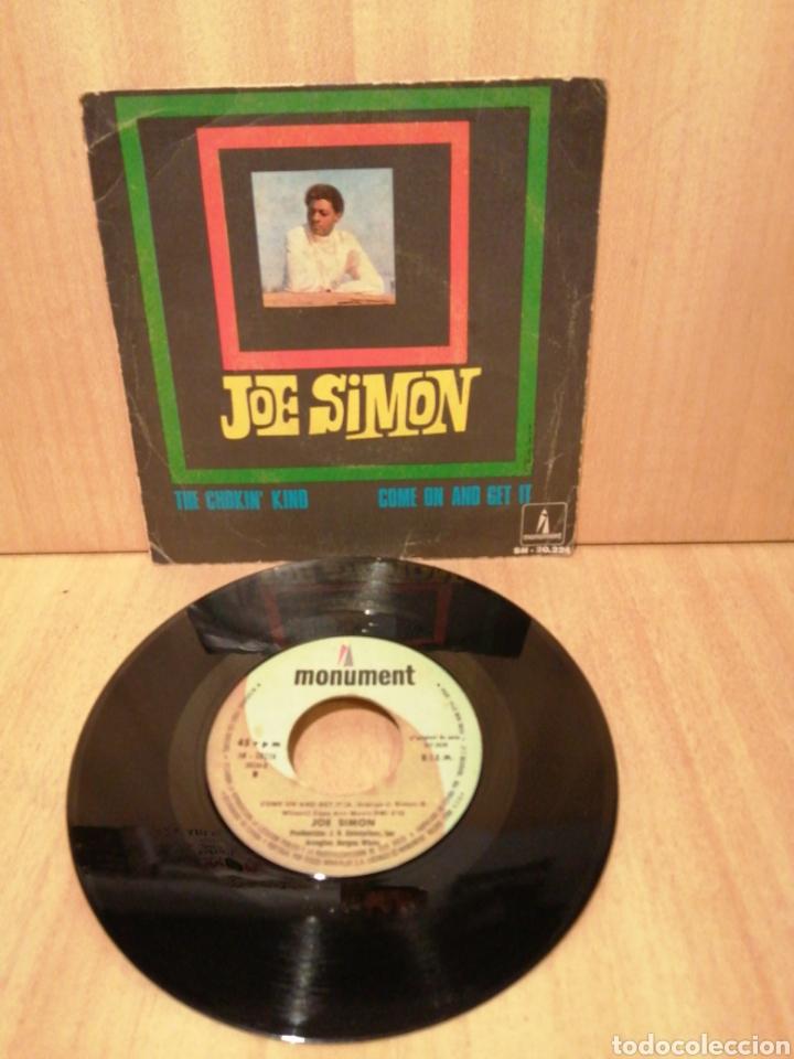 JOE SIMON. THE CHOKIN' KIND. COME ON AND GET IT. AÑO 1969. (Música - Discos - Singles Vinilo - Jazz, Jazz-Rock, Blues y R&B)