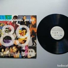 Disques de vinyle: 0920- NON STOP HIT MIX 89/90 ESPAÑA LP POR VG DIS VG. Lote 216371752