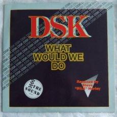 """Discos de vinilo: DSK - WHAT WOULD WE DO (12"""") (ZYX RECORDS) ZYX 6572-12 (D:VG+). Lote 216377068"""