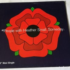 Discos de vinil: M PEOPLE WITH HEATHER SMALL - SOMEDAY - 1992. Lote 216395345