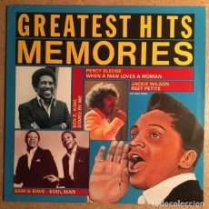 Discos de vinilo: PERCY SLEDGE, SAM &DAVE, JACKIE WILLSON, BEN E. KING (IMPECABLE). Lote 216414231