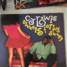 Discos de vinilo: C.J LEWIS-SWEETS FOR MY SWEET-1994. Lote 216430473