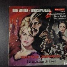 Discos de vinilo: RUDY VENTURA Y ORQUESTA VERGARA EP DOCTOR ZHIVAGO + 3 VERGARA 1966. Lote 216431530