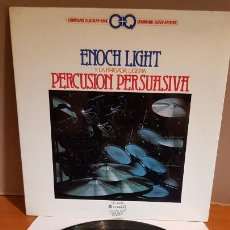 Discos de vinilo: ENOCH LIGHT Y LA BRIGADA LIGERA / PERCUSIÓN PERSUASIVA / LP-GATEFOLD / QUADRAPHONIC / MBC. ***/***. Lote 216434922
