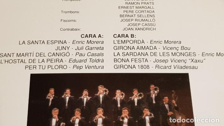 Discos de vinilo: COBLA PRINCIPAL DE LA BISBAL / SARDANES DOR / LP - AVS-1988 / MBC. ***/*** - Foto 3 - 216439130