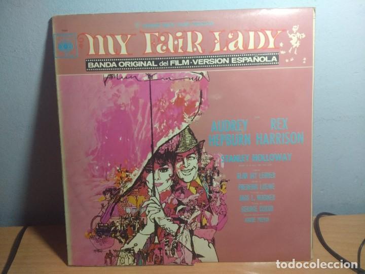 LP BANDA SONORA MY FAIR LADY ( VERSION CANTADA EN ESPAÑOL ) (Música - Discos - LP Vinilo - Bandas Sonoras y Música de Actores )