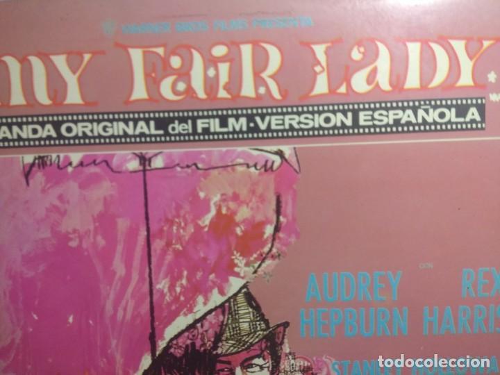 Discos de vinilo: LP BANDA SONORA MY FAIR LADY ( VERSION CANTADA EN ESPAÑOL ) - Foto 2 - 216447200