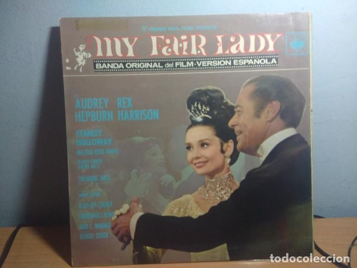 Discos de vinilo: LP BANDA SONORA MY FAIR LADY ( VERSION CANTADA EN ESPAÑOL ) - Foto 3 - 216447200