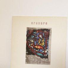 Discos de vinilo: ERASURE THE INNOCENTS 1988 LP. Lote 216470876