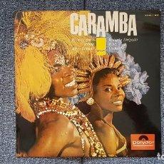 Discos de vinilo: ROBERTO DELGADO Y SU ORQUETA - CARAMBA. EDITADO POR POLYDOR. AÑO 1.965.PURO RITMO AFRO-CUBANO. Lote 216490197