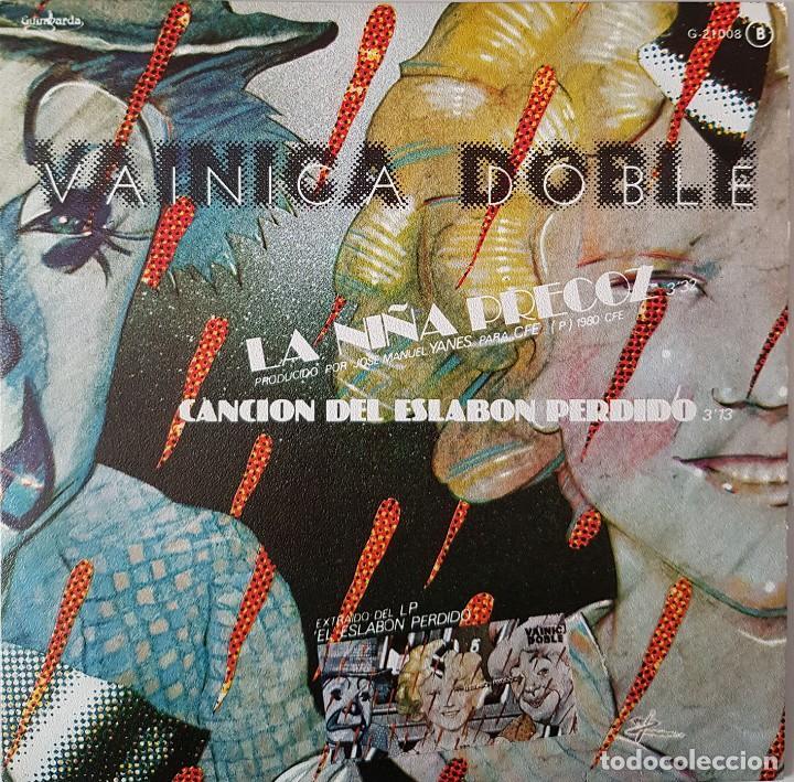 VAINICA DOBLE. LA NIÑA PRECOZ Y CANCIÓN DEL ESLABÓN PERDIDO. 1980 (Música - Discos de Vinilo - EPs - Cantautores Españoles)
