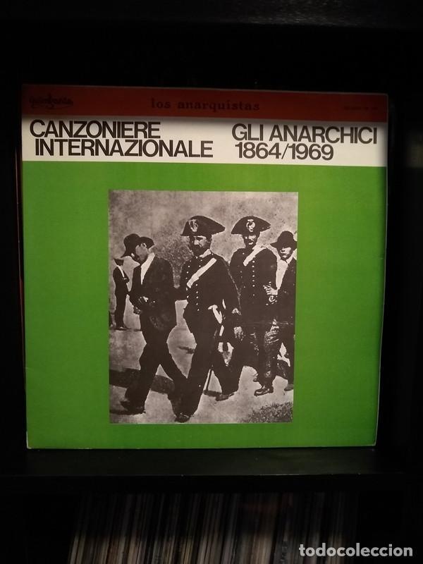 IL CANZONIERE INTERNAZIONALE - GLI ANARCHICI 1864/1969 - 1979 2XLP ALBUM - LOS ANARQUISTAS (Música - Discos - LP Vinilo - Canción Francesa e Italiana)