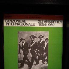 Discos de vinilo: IL CANZONIERE INTERNAZIONALE - GLI ANARCHICI 1864/1969 - 1979 2XLP ALBUM - LOS ANARQUISTAS. Lote 216493083