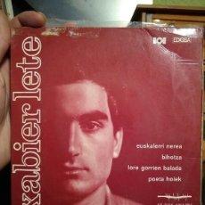 Discos de vinilo: XABIER LETE - EUSKALERRI NEREA - 1968 EP - EZ DOK AMAIRU. Lote 216493095