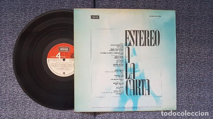 Discos de vinilo: Estereo a la carta - Werner Muller, Ted Heath, Los Machucambos, etc. Editado por Decca. año 1.971 - Foto 3 - 216493462