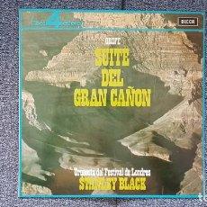Discos de vinilo: STANLEY BLACK Y ORQUESTA DEL FESTIVAL DE LONDRES - SUITE DEL GRAN CAÑÓN. EDITADO POR DECCA.AÑO 1.964. Lote 216495982