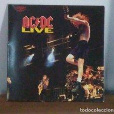 Discos de vinilo: AC DC - LIVE - 1992 - 2 LPS - DOBLE CARPETA. Lote 216496211