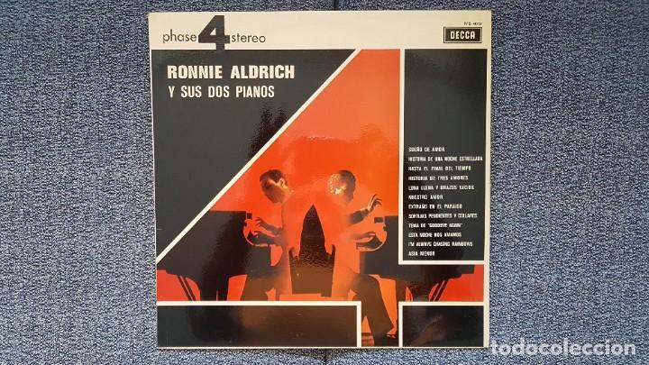 RONNIE ALDRICH Y SUS DOS PIANOS - EDITADO POR DECCA. AÑO 1.970. SONIDO 4 FASES ESTÉREO. (Música - Discos - LP Vinilo - Orquestas)