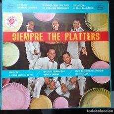 Discos de vinilo: DISCO VINILO LP - SIEMPRE THE PLATTERS -. Lote 216497063