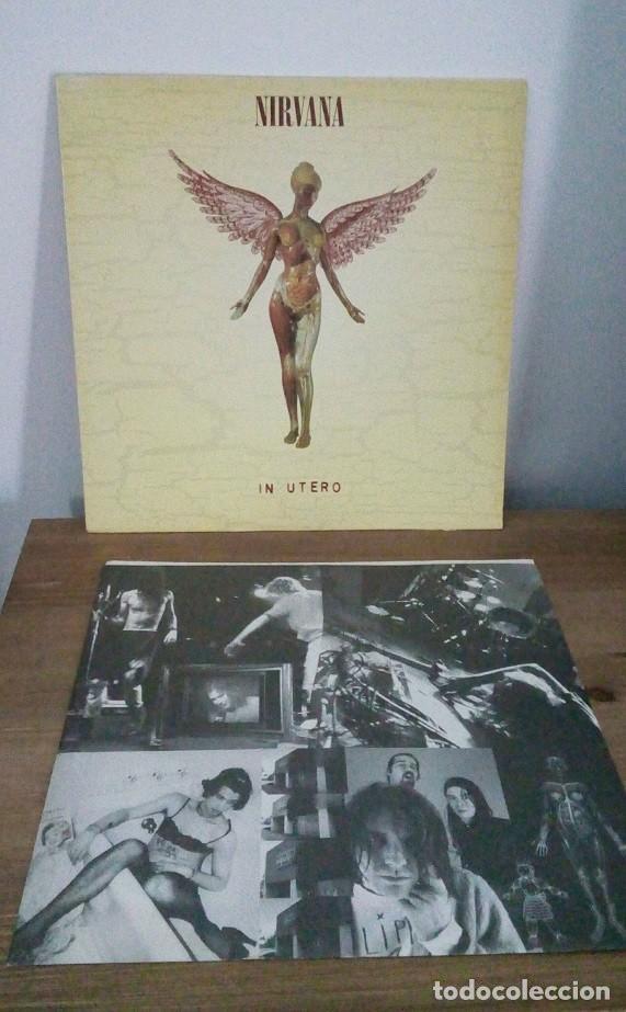NIRVANA - IN UTERO - 1993 (Música - Discos - LP Vinilo - Grupos Españoles de los 90 a la actualidad)