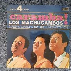 Discos de vinilo: LOS MACHUCAMBOS - CARAMBA. EDITADO POR DECCA. AÑO 1.966. SONIDO 4 FASES ESTÉREO.. Lote 216500875