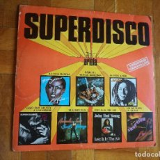 Discos de vinilo: SUPERDISCO ARIOLA - BONEY M - JOHN PAUL YOUNG - GRACE JONE - AMANDA LEAR - ERUPTION - BOB MARLEY .... Lote 216507001