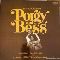 Discos de vinilo: PORGY AND BESS - TRIPLE LP CON LIBRETO. 1978 MUY RARO. Lote 216513590