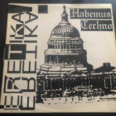 Discos de vinilo: HABEMUS TECHNO MAXISINGLE. Lote 216515477