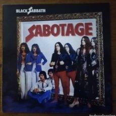 Discos de vinilo: BLACK SABBATH SABOTAGE LP. Lote 216521573