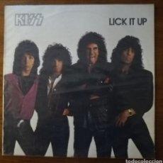 Discos de vinilo: KISS LICK IT UP LP. Lote 216522606