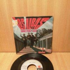 Disques de vinyle: LOS ALBAS. CAMINO Y PIEDRA. ATACALO.. Lote 216541910