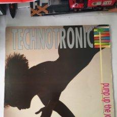 Disques de vinyle: TECHNOTRONIC-PUMP UP THE JAM-1989. Lote 216545995