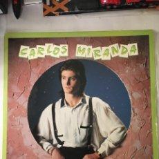 Discos de vinilo: CARLOS MIRANDA-CON EL BRILLO DE LAS ESTRELLAS-1989-EXCELENTE ESTADO SIN USO. Lote 216547660