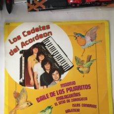 Discos de vinilo: LOS CADETES DEL ACORDEON-1981-NUEVO!!. Lote 216549292