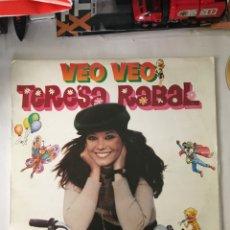 Discos de vinilo: TERESA RABAL-VEO VEO-1980-VINILO CASI SIN USO. Lote 216550267