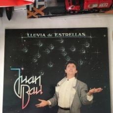Discos de vinilo: JUAN BAU-LLUVIA DE ESTRELLAS-1987-NUEVO!!. Lote 216551383