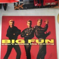 Discos de vinilo: BIG FUN-CAN'T SHAKE THE FEELING-1989-NUEVO!!. Lote 216557543