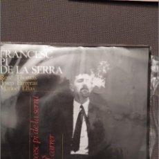 Discos de vinilo: FRANCESC PI DE LA SERRA: L'HOME DEL CARRER, EDIGSA 1964, RENE THOMAS, JOSEP FARRERAS,NOVA CANÇÓ. Lote 216559723