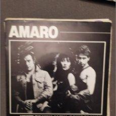 Discos de vinilo: AMARO: MUJER DE LUNA LLENA, POLVO BLANCO PROMOCIONAL-ONOMASTER 1987-. Lote 216568168
