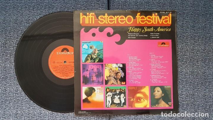Discos de vinilo: Hifi-Stereo-Festival. Happy south America. James Last, Roberto Delgado, Kai Warner, etc. año 1.970 - Foto 3 - 216578877