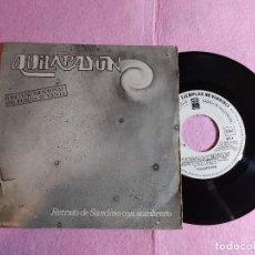 "Discos de vinilo: 7"" QUILAPAYUN – RETRATO DE SANDINO CON SOMBRERO - PATHE 027-P - SPAIN PRESS PROMO (VG/VG+). Lote 216587243"