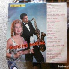 Disques de vinyle: MUSIC FOR DANCING. Lote 216595225