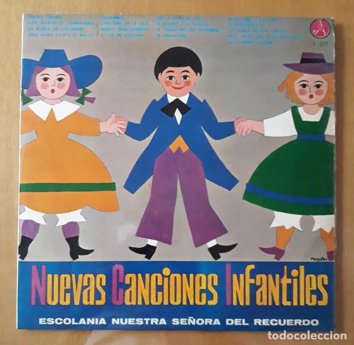 LP NUEVAS CANCIONES INFANTILES. ESCOLANIA NUESTRA SEÑORA DEL RECUERDO. (Música - Discos - LPs Vinilo - Música Infantil)