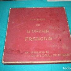 Discos de vinilo: PANORAMA DE L´OPERA FRANCAIS 1958 Y 4 DISCOS CLUB NACIONAL DEL DISCO.. Lote 216604921