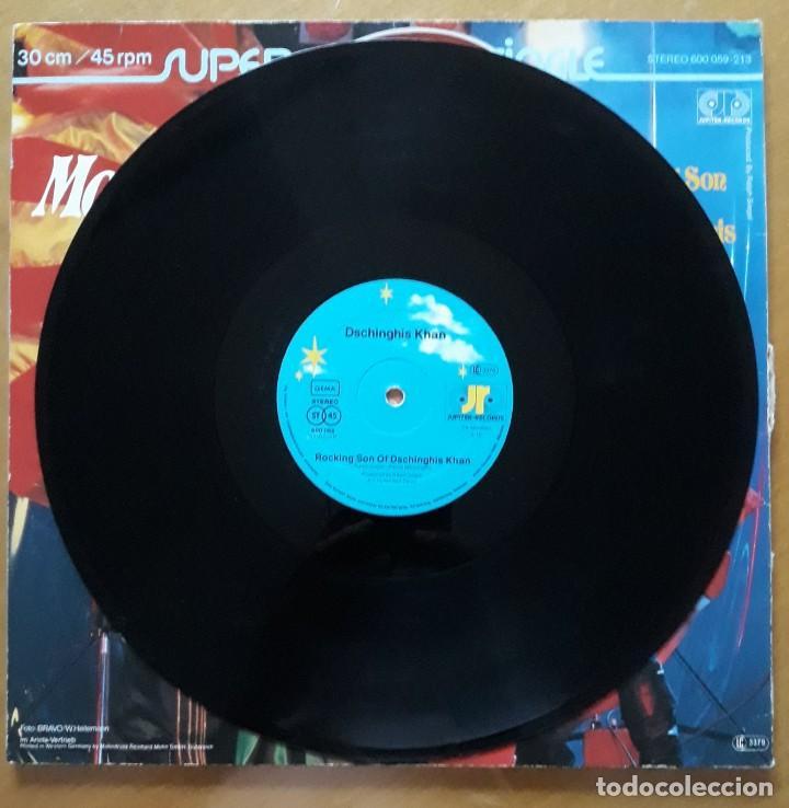 Discos de vinilo: LP MOSKAU DSCHINGHIS KHAN. ROCKING SON. - Foto 2 - 216606251