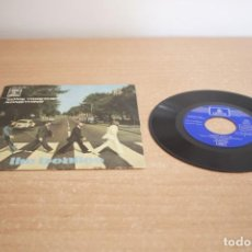 Discos de vinilo: THE BEATLES COME TOGETHER SOMETHING SINGLE. Lote 216613266